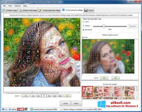 स्क्रीनशॉट Photo Collage Maker Windows 8