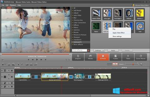 स्क्रीनशॉट Movavi Video Suite Windows 8