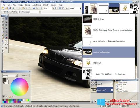 स्क्रीनशॉट Paint.NET Windows 8