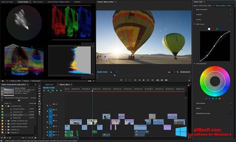 स्क्रीनशॉट Adobe Premiere Pro Windows 8