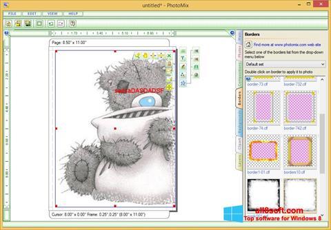 स्क्रीनशॉट PhotoMix Collage Windows 8