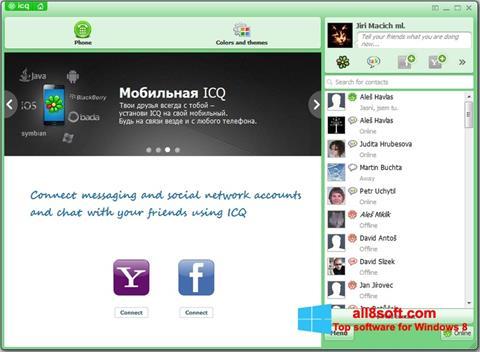 स्क्रीनशॉट ICQ Windows 8