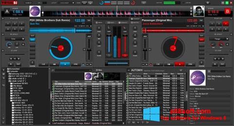 स्क्रीनशॉट Virtual DJ Windows 8