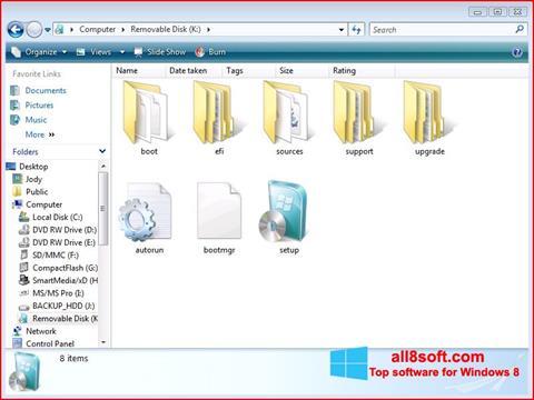 स्क्रीनशॉट Windows 7 USB DVD Download Tool Windows 8