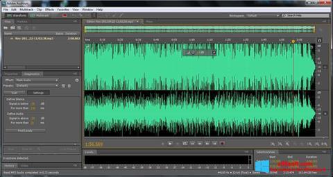 स्क्रीनशॉट Adobe Audition Windows 8