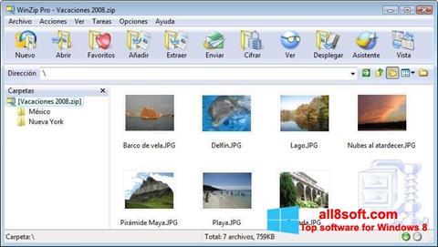 स्क्रीनशॉट WinZip Windows 8