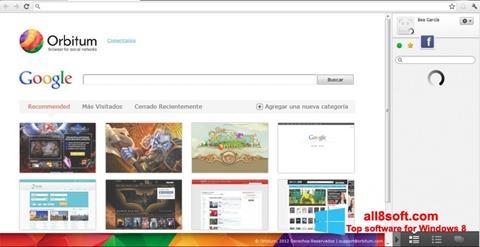 स्क्रीनशॉट Orbitum Windows 8