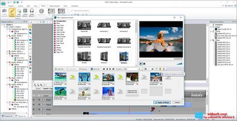 स्क्रीनशॉट VSDC Free Video Editor Windows 8
