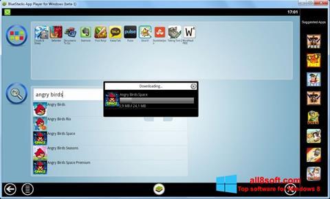 स्क्रीनशॉट BlueStacks Windows 8