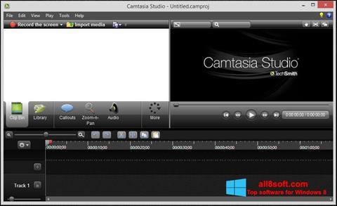 स्क्रीनशॉट Camtasia Studio Windows 8