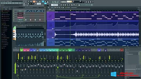 स्क्रीनशॉट FL Studio Windows 8