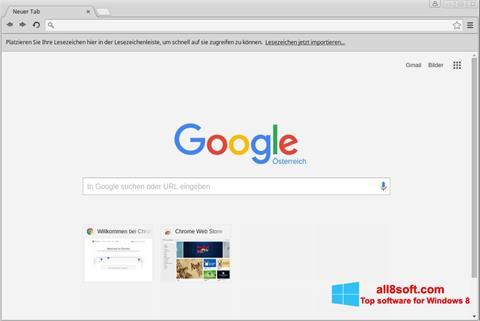 स्क्रीनशॉट Google Chrome Windows 8