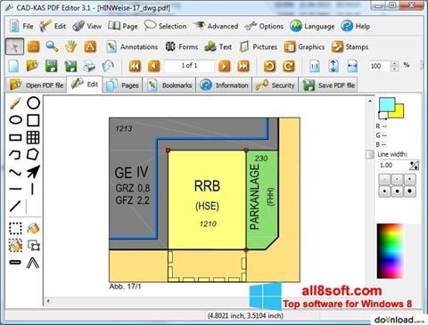 स्क्रीनशॉट PDF Reader Windows 8