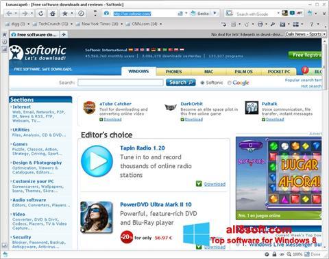 स्क्रीनशॉट Lunascape Windows 8